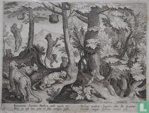 Excrementa hominum Panthera auido appetit ore: