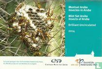 """Aruba mint set 2014 """"Insects of Aruba"""""""