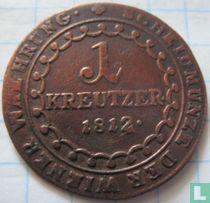 Austria 1 kreutzer 1812 (E)