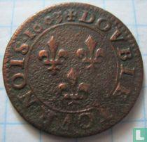 France double tournois 1603 (A) (Type a2)