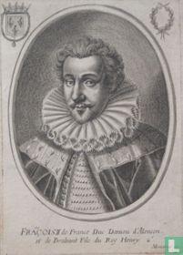 'FRAÇOIS II de France Duc Daniou d'Alençon, et de Brabant Fils du Roy Hendry 2e.