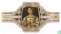 Jan Gossart - Portret van Isabella van Oostenrijk