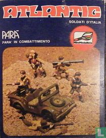 Paratroops with Jeep