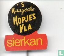 's Haagsche Hopjes Vla Sierkan [geel]