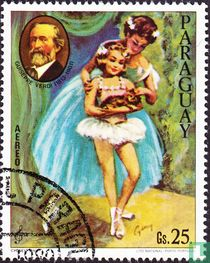 Komponisten und Ballettszenen