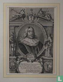 GEORGIUS PHILIPPUS HARSDÖRFERUS: SENATOR NORIBERGENSIS NATUS Ao. 1607. DENAT. Ao. 58.
