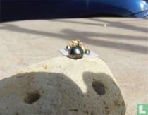 Perle de Tahiti montée Or 18 carats