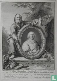 André Hercules Cardinal de Fleury Grand Aumonier de la Reine Ministre d'Etat, Grand Maitre et surintendant des Postes.