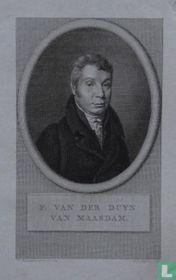 F. VAN DER DUYN VAN MAASDAM.