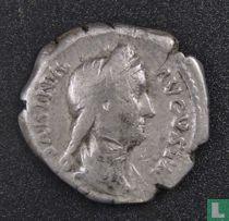 Romeinse Rijk, AR Denarius, 128-138 AD, Sabina vrouw van Hadrianus, Rome, na 136 AD