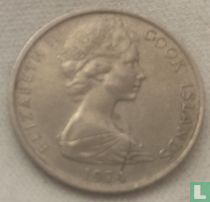 Cookeilanden 5 cents 1974