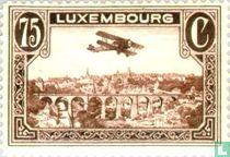 Vliegtuig boven Luxemburg