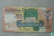 Seychelles ten rupees