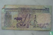 Seychelles 25 Rupees
