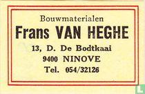 Bouwmaterialen Frans Van Heghe