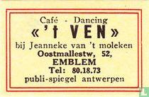 """Café - Dancing """"'t Ven"""""""