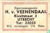 Sigarenmagazijn H. v. Veenendaal