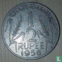India ½ rupee 1956