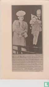 Royal Refugees: Crown Princess Juliana of the Netherlands arrived in Canada with the Princesses Irene and Beatrix