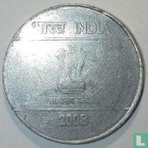 Inde 5 roupies 2008 (Calcutta)