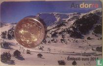 Andorra 2 euro 2014 (coincard)