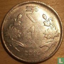 India 1 rupee 2014 (Calcutta)