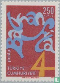 Postzegeltentoonstelling van de Balkanlanden