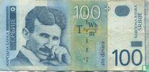Servië 100 Dinara 2004