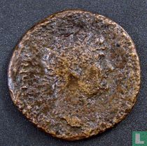 Romeinse Rijk, AE Dupondius, 117-138 AD, Hadrianus, Rome, 125-128 AD