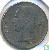 België 1 franc 1961 (FRA)