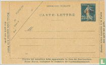 Zaaister (briefkaart)