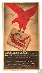 """Sigaren """"De Groote Vluchtsigaar """""""