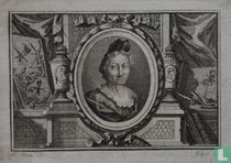 Portret van Anna Maria Sibylla Merian (1647-1717)