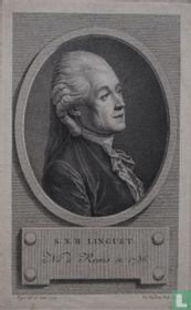 S.N.H. LINGUET. Né à Reims en 1736.