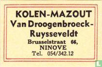 Kolen-Mazout Van Droogenbroeck-Ruysseveldt