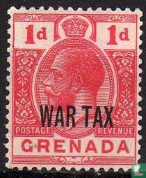 Koning George V (WAR TAX)