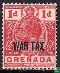Koning Georg V (WAR TAX)