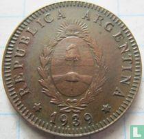 Argentinië 2 centavos 1939