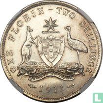 Australien 1 Florin 1911