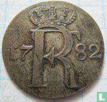 Pruisen 1/24 thaler 1782 (A - rosetten)
