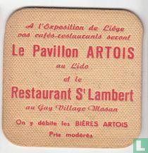 Stella Artois / A l'Exposition de Liège, vos cafés-restaurants...