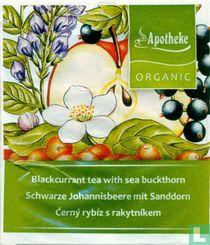 Blackcurrant  tea with sea buckthorn
