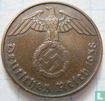 Duitse Rijk 2 reichspfennig 1938 (E)