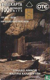 Kalavrita lakes cave