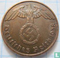 Duitse Rijk 2 reichspfennig 1938 (J)