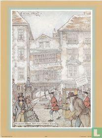 Mrs. Salmon's Waxwork - Fleetstreet London +/- 1810