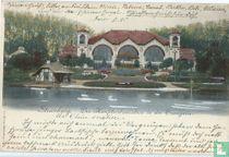 Die Hauptrestauration in der Orangerie