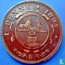 Afrique du Sud 1 penny 1894