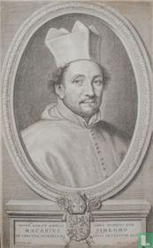 Reverdus. Adm. Et Amplissimus Dominus Dom. Macarius Simeomo Ad Sanctum Michaelem Abbas Antverpiae XLII.