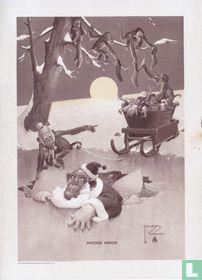 'Hoge nood' 3M Nieuwjaarswens 1954
